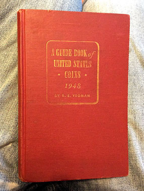 1948 guide book coins - red book