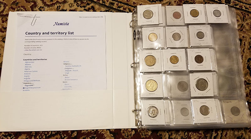 world coin binder
